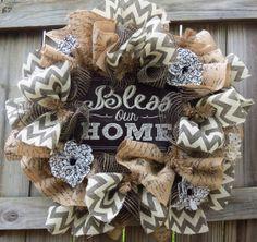 Everyday Deco Mesh Wreath Mothers Day Deco by FestivalofWreaths, $87.00  #trendytree #burlapwreath