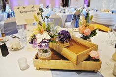 Beautiful centre piece of a table