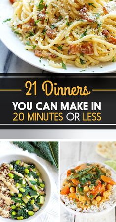 21 Dinners You Can Make In 20 Minutes Or Less