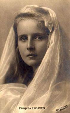 Prinzessin Elisabeth von RUmänien, später Königin von Griechenland