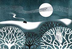 Winter Field - Sally Elford