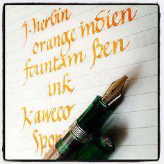 A tinta és a toll is így ahogy van instant get.