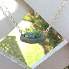 Succulent Planter Necklace