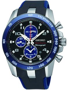 SEIKO Sportura Alarm Chronograph Blue Rubber Μοντέλο: SNAE91P1 Η τιμή μας: 445€ http://www.oroloi.gr/product_info.php?products_id=30295