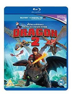 How To Train Your Dragon 2 [Edizione: Regno Unito] [Italia] [Blu-ray] Dreamworks Dragons, Dreamworks Animation, Dragon 2, Dvd Blu Ray, Amblin Entertainment, Dragon Trainer, How To Train Your Dragon, Trainers, Entertaining