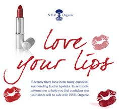 Lead in lipstick?  How to love your lips with NYR.