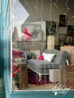 Vintage Store Window Display