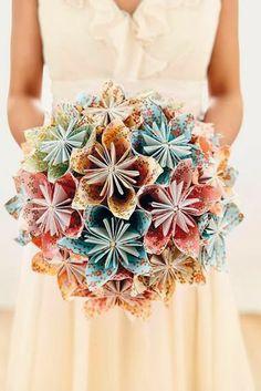 Ideias diferentes para buquê de noiva
