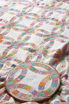 Double Wedding Ring Quilting Pattern Quilts
