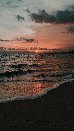phone wall paper sky lockscreens a - phonewallpaper Beach Sunset Wallpaper, Ocean Wallpaper, Summer Wallpaper, Nature Wallpaper, View Wallpaper, Sunset Beach, Aesthetic Pastel Wallpaper, Aesthetic Backgrounds, Aesthetic Wallpapers