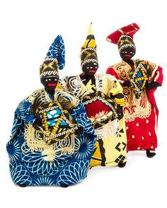 three kings from an african wax print nativity fairtrade nativity african christmas - African Christmas Decorations