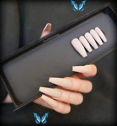 press on nails coffin, press on nails nude, long press on nails, press on nails long, nude nails, long nails, long press on nails coffin Nude Everyday Nails that work for every skin tone and every occasion. Choose between a matte (shown here) finish or a shiny finish. Choose between 9 nail shapes. The long coffin shape is shown here. To see the full collection of nails visit the website at www.onyxnailsdesign.com  Copy this link on<br> Long Press On Nails, Coffin Press On Nails, Long Nails, Coffin Nails, Nail Shapes Squoval, Nude Nails, Skin Tone, Website, Link