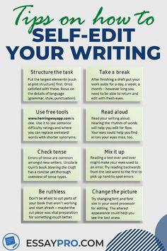 Academic Essay Writing, Essay Writing Help, Ielts Writing, Writing Strategies, English Writing Skills, Essay Writing Tips, Editing Writing, Writing Words, Teaching Writing