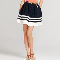 preppy poplin skirt - Tommy Hilfiguer (Increíble, primera vez que me gusta algo de TH... )
