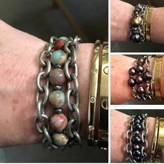 Great chain wrap bracelets... Can be customized