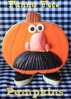Funny Face Pumpkins · Edible Crafts   CraftGossip.com