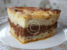 Greek Pastitsio! The better version of lasagna…. Especially add some cumin and allspice to the meet sauce for something even better! Instead of making the white sauce, you can also buy a pre-made white sauce. And canned fire roasted tomatoes are great! What else?…