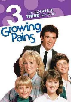 March 1 Happy birthday to Alan Thicke - Growing Pains: The Complete Third Season Comedy Series, Tv Series, Alan Thicke, Kirk Cameron, Family Tv, Tv Station, 80s Kids, Leonardo, Vintage Tv