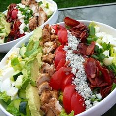 Cobb Salad...I was the only kid I knew who would order this instead of a hamburger.