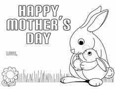 17 printable mothers day coloring pages