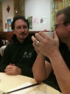With my Gongfu brother Neil, March 2012