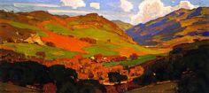 The Athenaeum - California Slopes (William Wendt - 1922)