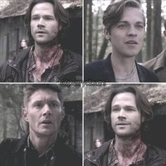 """I'm in love with this moment. The two people that actually deserve Sam Winchester. ❤️ 