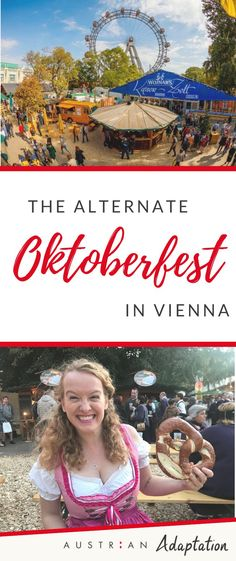 Vienna has its very own Oktoberfest in the centre of the city! Check out the alternate Oktoberfest details to experience a uniqe, local festival in Vienna Visit Austria, Austria Travel, Vienna Austria, Travel Through Europe, Europe Travel Tips, Vienna Guide, Top Places To Travel, Local Festivals, Slow Travel