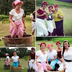 Photos from the Lucy Look A Like contest at Landry Vineyards in West Monroe. #wine #ilovelucy