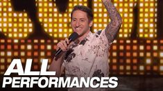 Comedian Samuel Comroe drew laughs on America's Got Talent 2018 Season 13 Live Semifinals Week 1 on Tuesday, September Comedy Acts, Comedy Show, Stand Up Comedy, Americans Got Talent, Best Stand Up, Contortionist, American Spirit, Hilarious, Funny