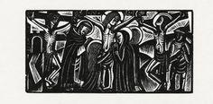 The Crucifixion, David Jones, 1924
