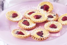 Mini Strawberry Custard Tarts Recipe - Taste.com.au