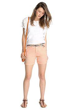 Esprit - Lässige Shorts aus Baumwolle/Stretch im Online Shop kaufen