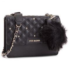 Τσάντα STEVE MADDEN - Beverc Shoulderbag SM13000038 Black 001 Steve Madden, Shoulder Bag, Bags, Fashion, Handbags, Moda, La Mode, Fasion, Totes