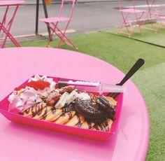 韓国の弘大にある可愛いミニパンケーキ屋さんでお腹も気分も満たされちゃいましょう
