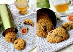 BISCUITI CU FULGI DE OVAZ Yummy Food, Yummy Recipes, Biscuits, Deserts, Gluten, Cookies, Sweets, Crack Crackers, Crack Crackers