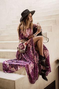 Stylish bohemian boho chic outfits style ideas 20