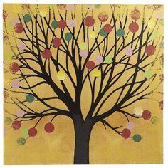 Orange Happy Tree