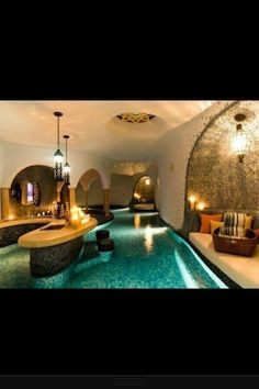 Another indoor lazy river