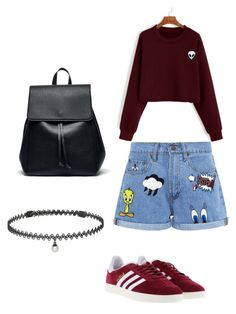 """adventure"" by c-yianaki on Polyvore featuring Paul & Joe Sister, adidas, Sole Society and BERRICLE"