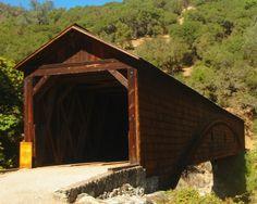 Penn Valley, CA : Bridgeport Covered Bridge, 9 miles north of Penn Valley