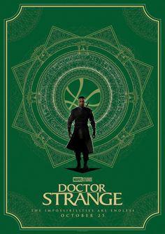 Doctor Strange - Poster artwork by Matt Ferguson