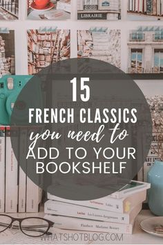 These are the 15 best classic French novels to read if you're a francophile. If you love all things France, you'll want to pick up these French books. There's more to French literature than Les Miserables! Reading Lists, Book Lists, Reading Books, Classics To Read, Good Books, Books To Read, French Language Lessons, English Language, Classic Literature