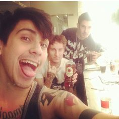 Andy Leo, Hayden Tree, and Brandon Hoover- Crown The Empire