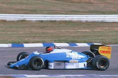 1986 GP Niemiec (Piercarlo Ghinzani) Osella FA1G - Alfa Romeo