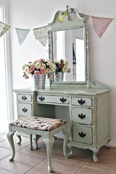 """Charming Antique Nightstand/Side Table [Sold] Antique Berkey & Gay Dresser [Sold] Vintage Farmhouse Cabinet [Sold] Kent-Coffey """"Verona"""" Gentleman's Chest of Drawers [Sold] Vin…"""