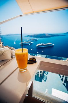 Cafe with a view, Fira, Santorini