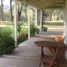 day I'll have a veranda with an incredible outlook Porches, Future House, My House, Decks, Pergola, Australian Homes, Australian Architecture, House Goals, Villa