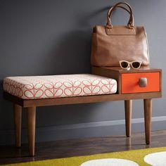 flur möbel praktisch funktional modern bank mit schubladen