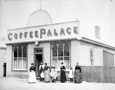 Coffee Palace in Geelong,Victoria in 1890. •Museum Victoria•